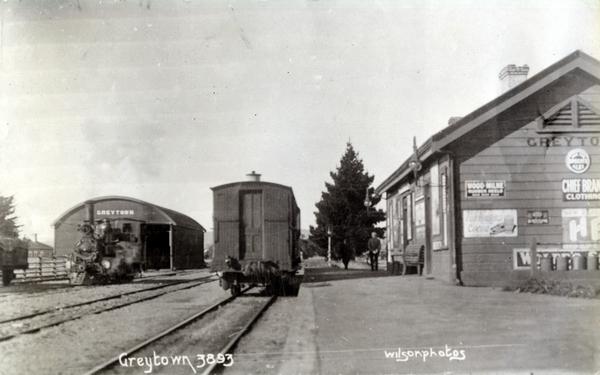 Greytown Railway Station : Print