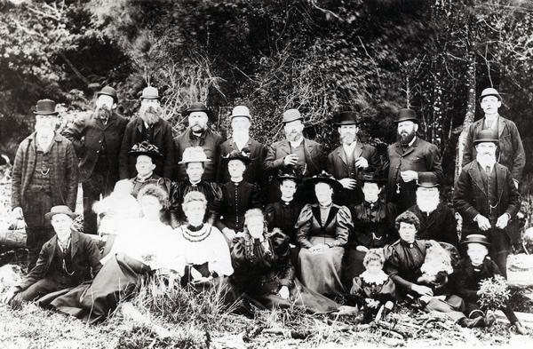 Scandinavian settlers at Kopuaranga