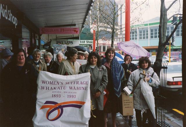 North Shore Women's Suffrage Centennial march, 1993