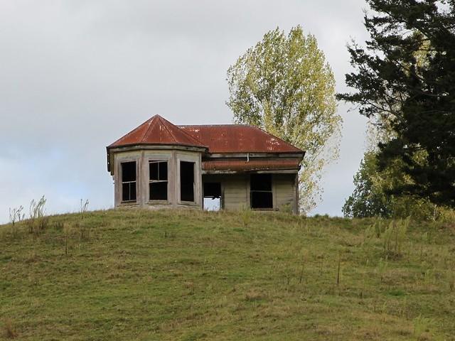 Old house, Te Kuiti, New Zealand