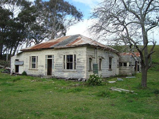 Old house, Bainesse, New Zealand