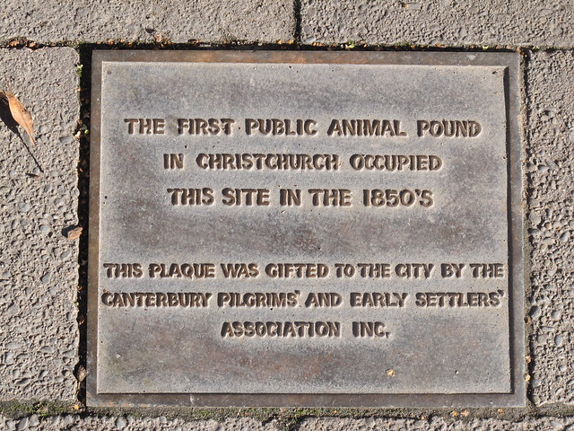 Plaque in Victoria Square