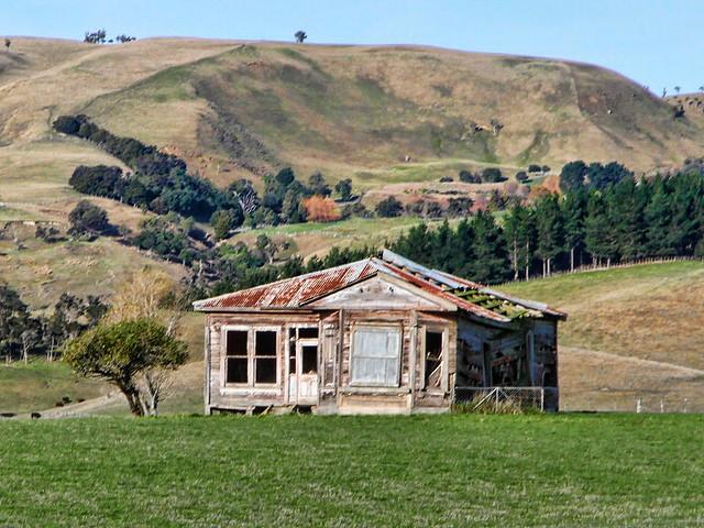 Old house, Gladstone, Wairarapa, New Zealand.