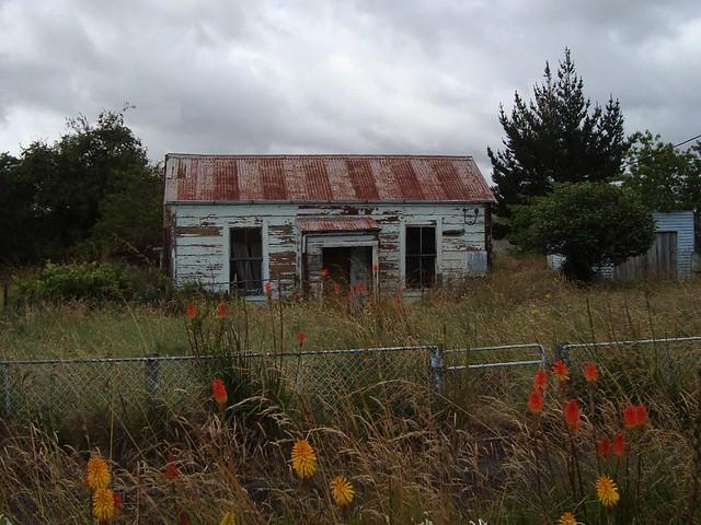 Old house, Ohingaiti, New Zealand