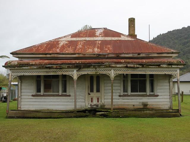 Old house, Taupiri, Waikato, New Zealand