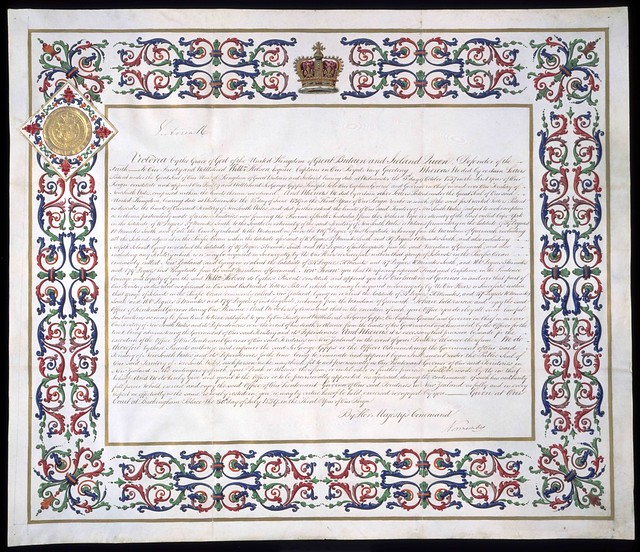 Appointment of William Hobson as Lieutenant Governor, 1839