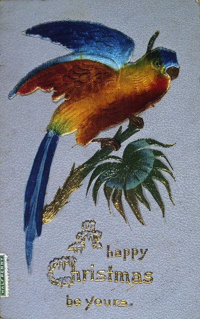 [Postcard]. A Happy Christmas be yours. [ca 1905-1910].