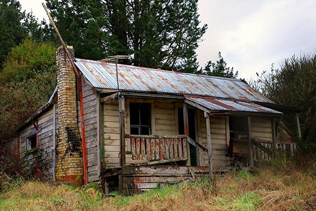 Old house, Waimiha, Manawatu Whanganui, New Zealand