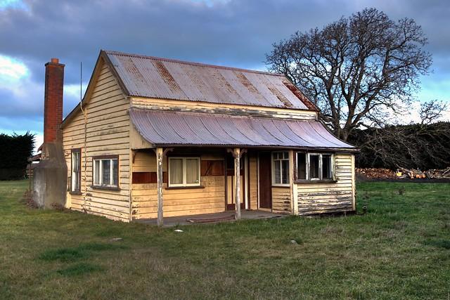 Old house, Waikuku, Canterbury, New Zealand