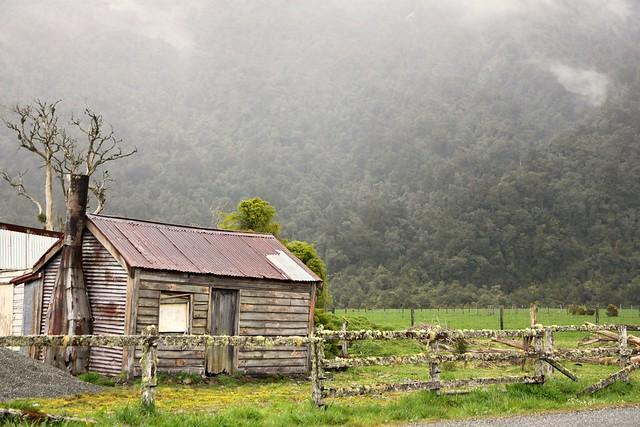 Old house, Wainihinihi, West Coast, New Zealand