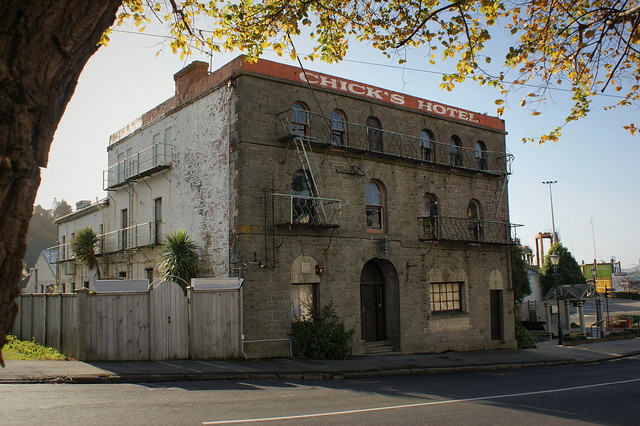 Port Chalmers: Chick's Hotel (c.1876) (1)