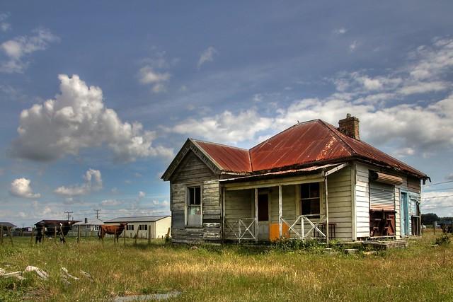 Old house, Rangiriri, Waikato, New Zealand