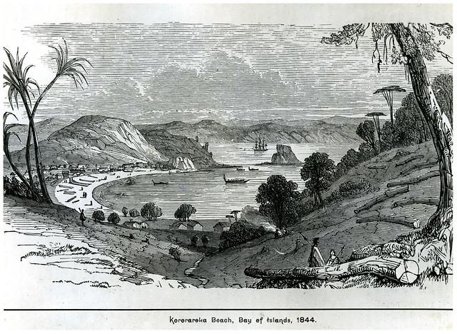 Kororāreka (Russell), 1844