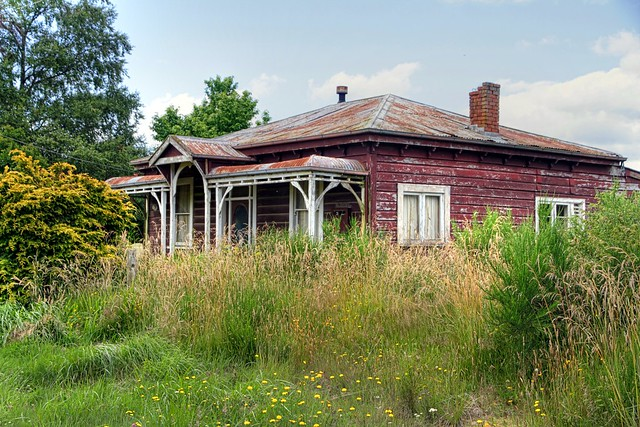 Old house, Rangataua, Manawatu - Whanganui, New Zealand