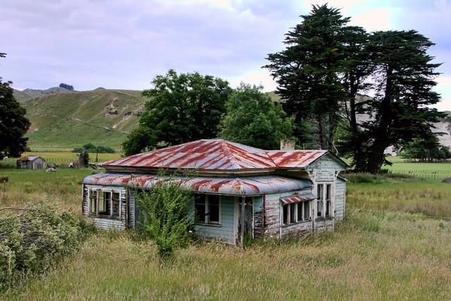 Old house, Mangaweka, Rangitikei, New Zealand.
