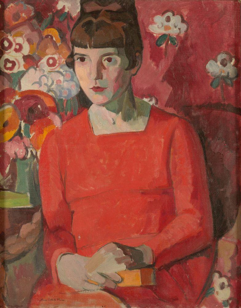 Portrait of Katherine Mansfield