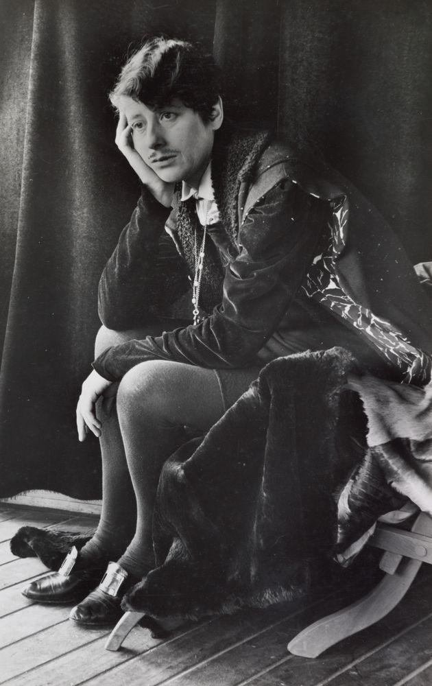 Ngaio Marsh as Hamlet