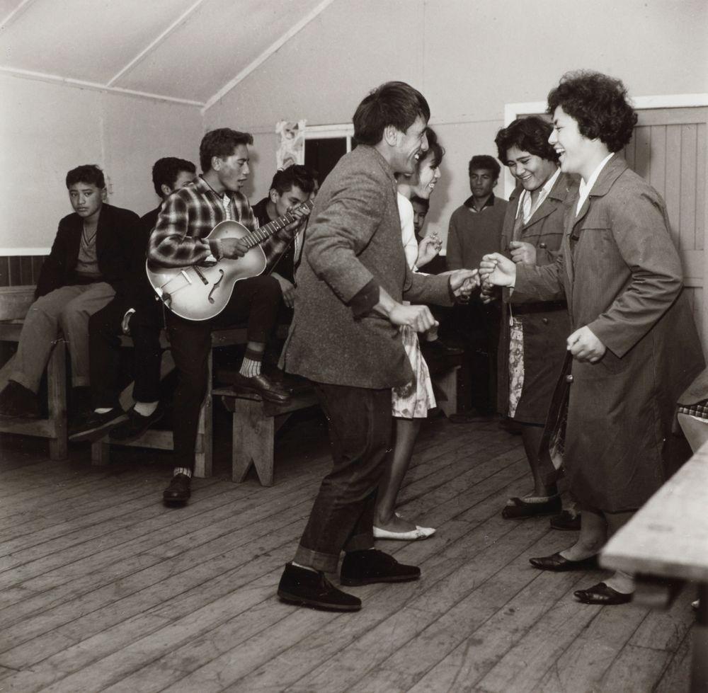 Whakatane Maori Youth Club, 1963. From the portfolio: PhotoForum - Ans Westra