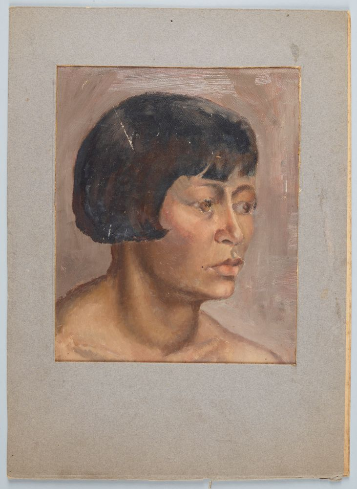 Untitled [portrait of a young woman]