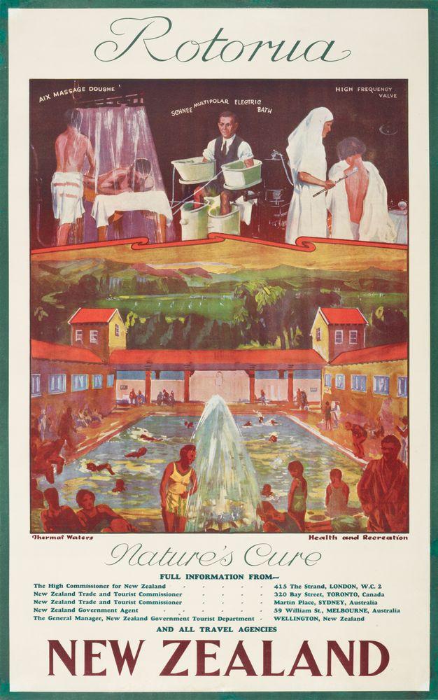 Poster, 'Rotorua'