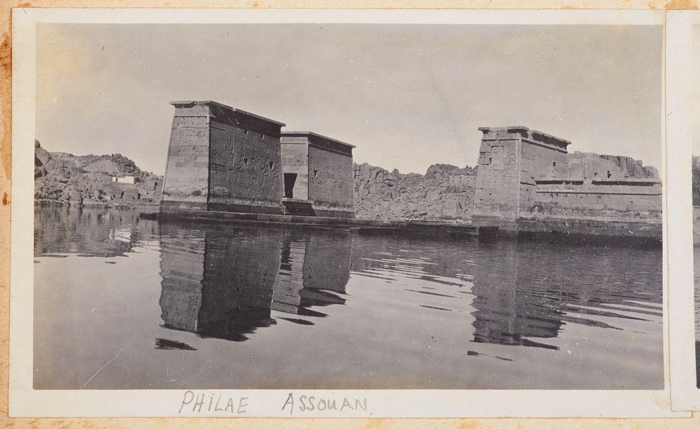 Philae, Assuan. From the album: Photograph album of Major J.M. Rose, 1st NZEF