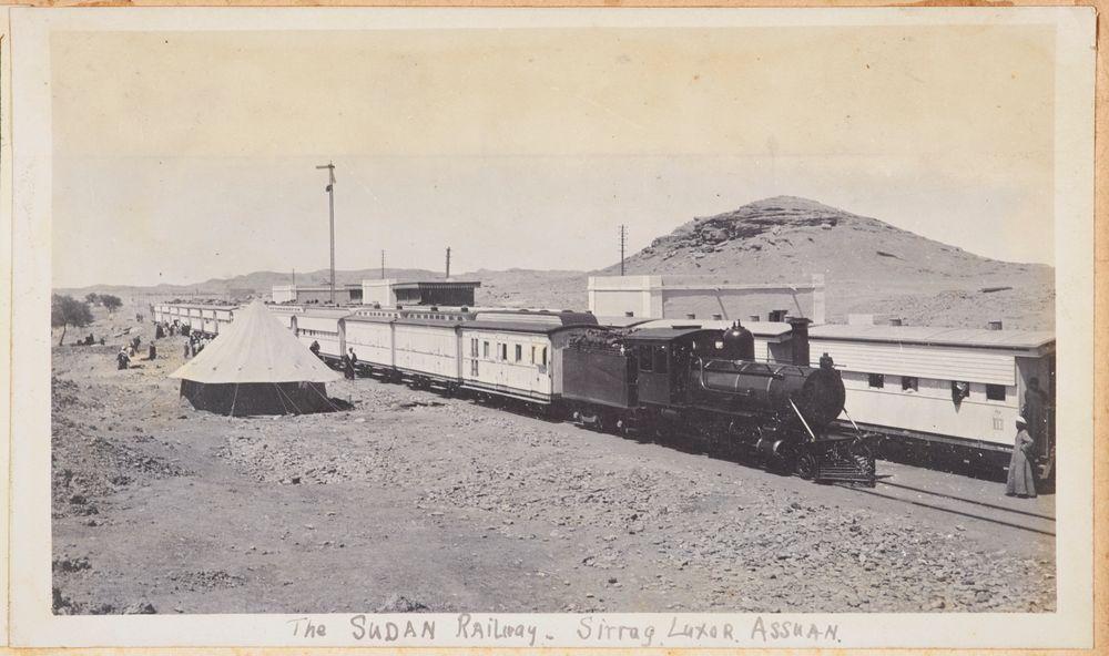 The Sudan Railway, Sirrug, Luxor, Assuan. From the album: Photograph album of Major J.M. Rose, 1st NZEF