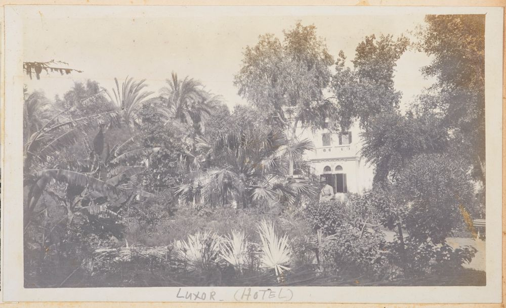 Luxor (hotel). From the album: Photograph album of Major J.M. Rose, 1st NZEF