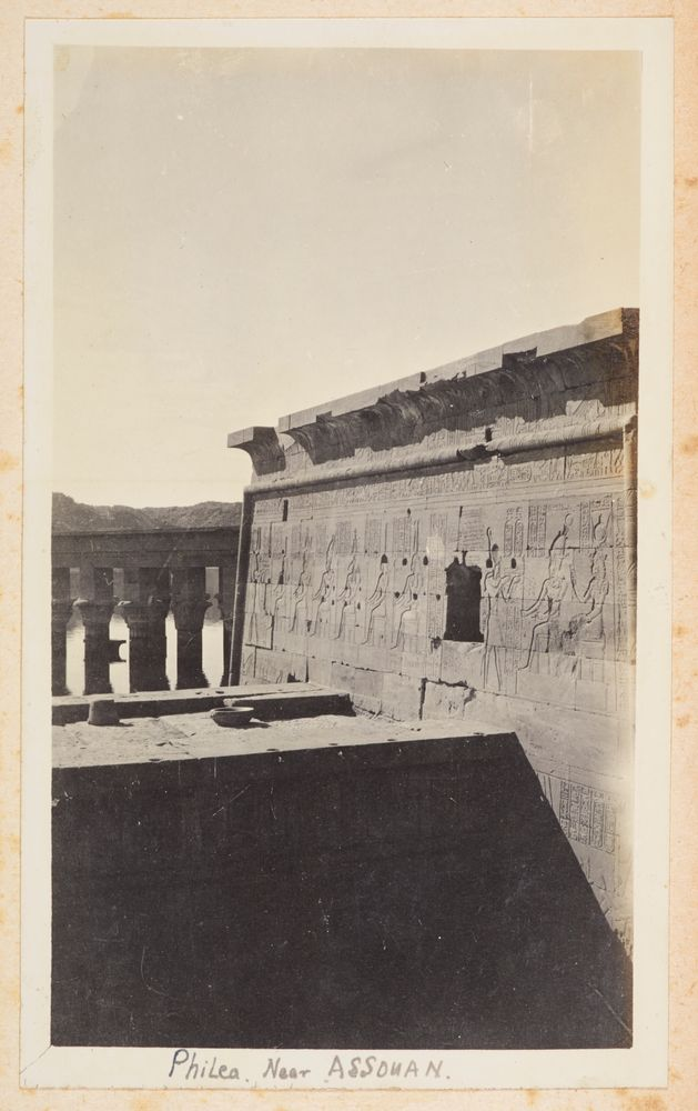 Philea [sic], near Assouan. From the album: Photograph album of Major J.M. Rose, 1st NZEF
