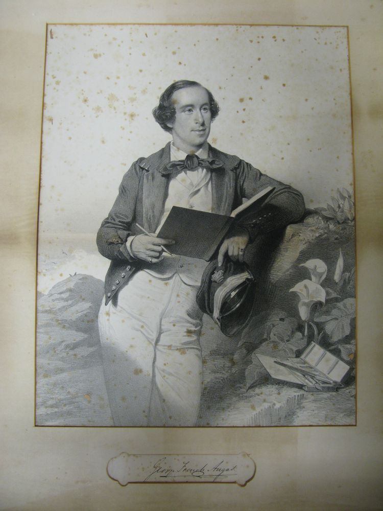 Portrait of George French Angas