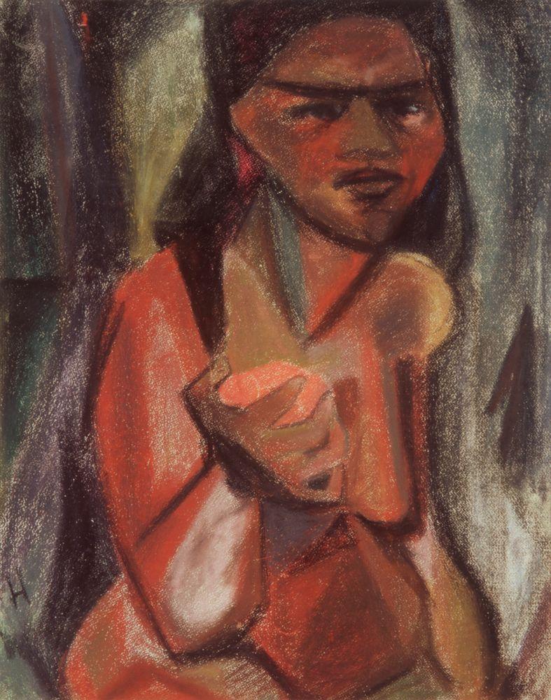 Portrait of a Polynesian woman