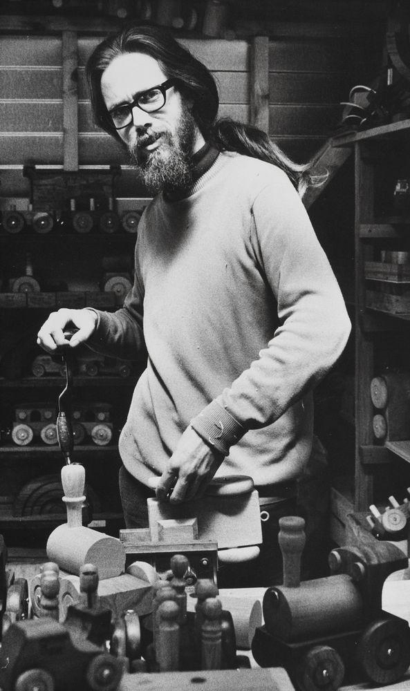 John Brunette - toy maker