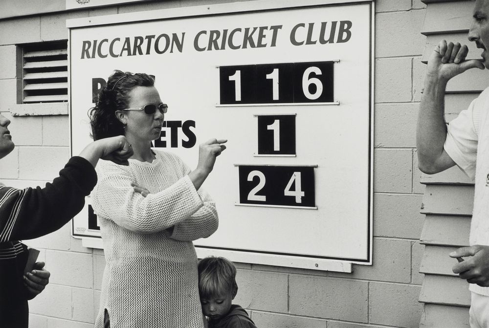 Deaf cricket tournament, Hagley Park, Christchurch, 2000