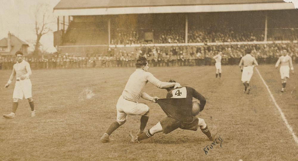 [rugby match - All Blacks]
