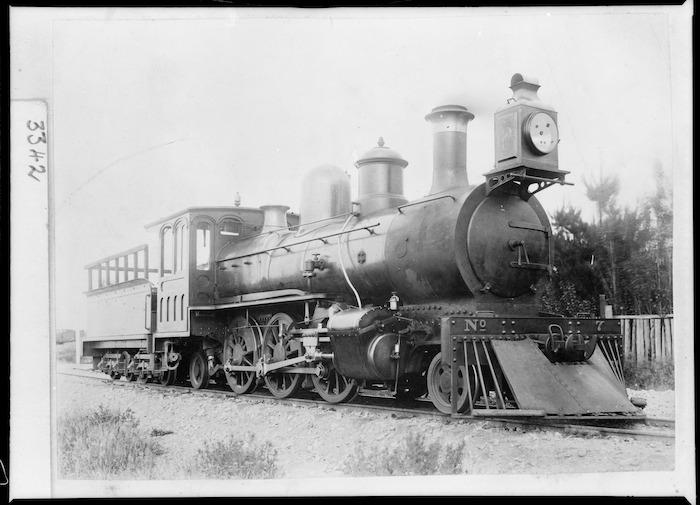 V class steam locomotive, WMR 7, 2-6-2 type
