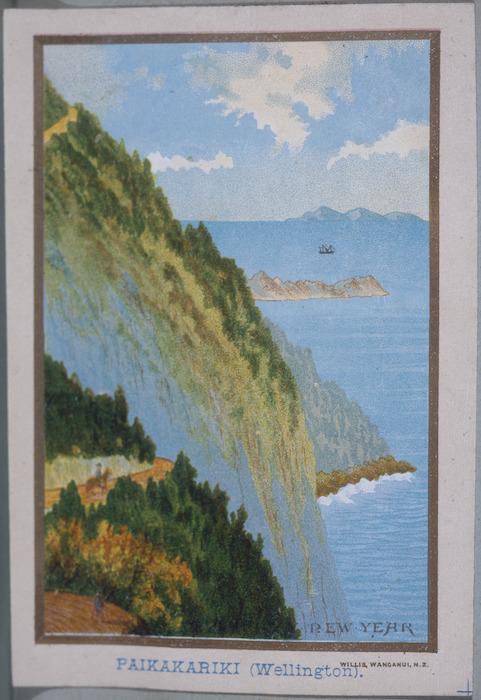 Willis, Archibald Duddington (Firm) :Paikakariki (Wellington). Wanganui ; A.D. Willis, [ca. 1886].