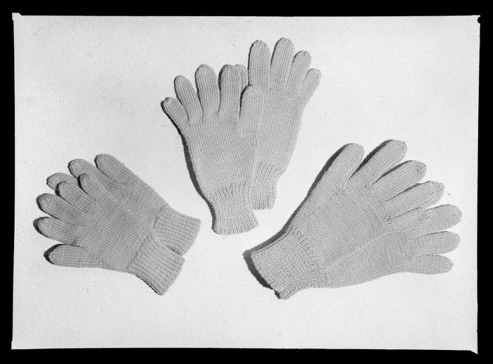 Three pairs of gloves