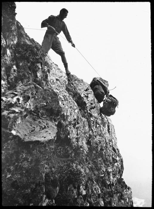 B Johns descending Tutoko