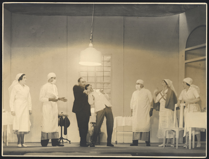 Scene from Exit Sir Derek