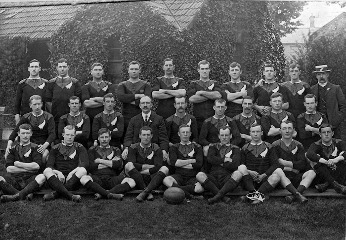 All Black rugby team that toured the United Kingdom in 1905-6
