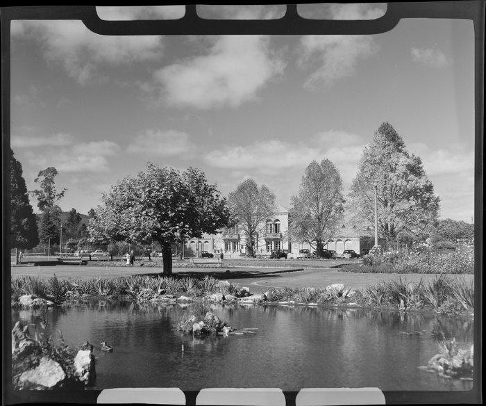 The Blue Baths and Government Gardens, Rotorua