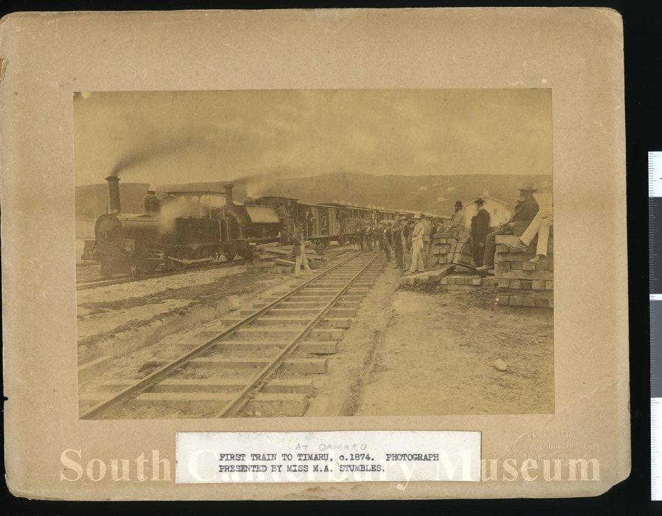 [Excursion train, Oamaru to Timaru]