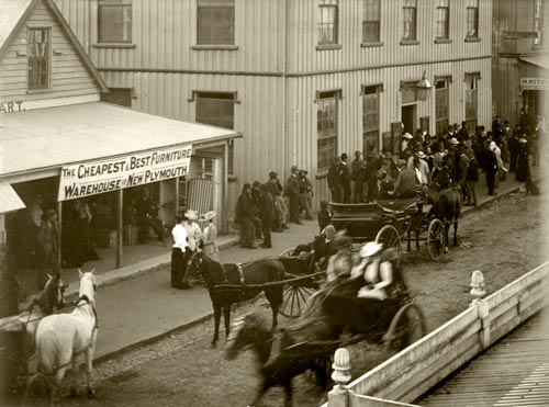 Voting in New Plymouth, 1893