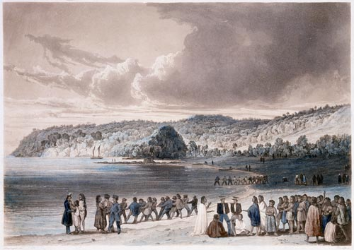 Trading and fishing, Kororāreka