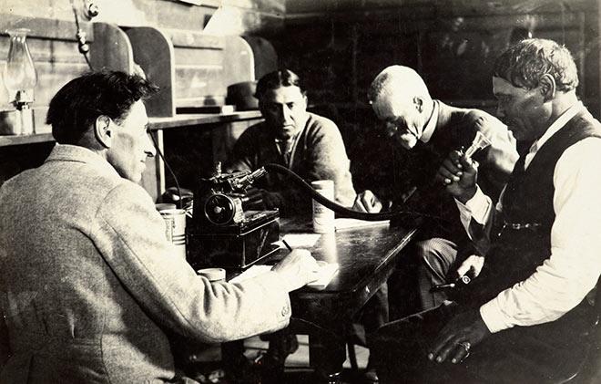 Dominion Museum recording 1923