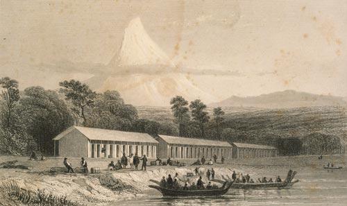 Immigration barracks, 1841
