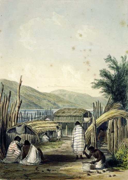 Pipitea pā, 1842