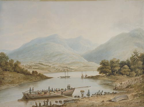 Colonists leaving for Otago, 1847