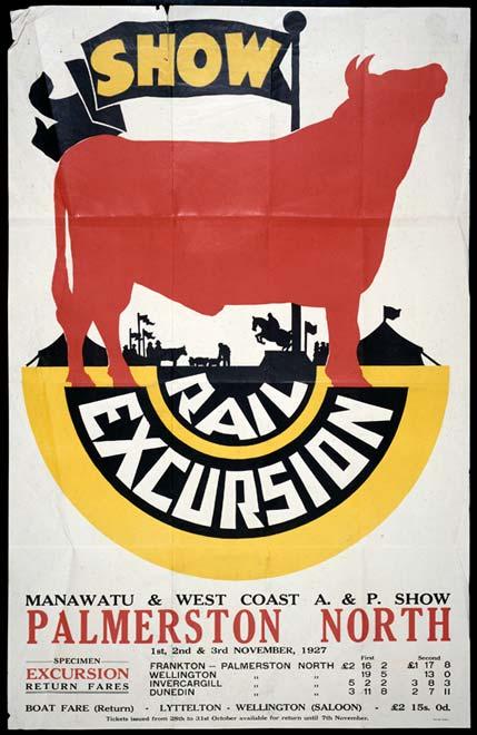 A & P show by rail