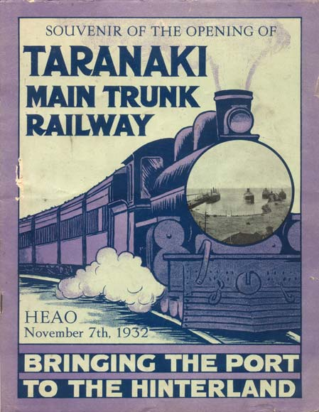 Celebrating the rail link to Auckland