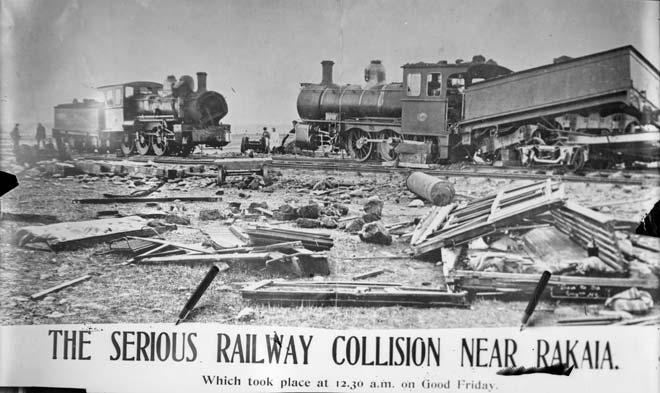Rakaia rail accident, 1907